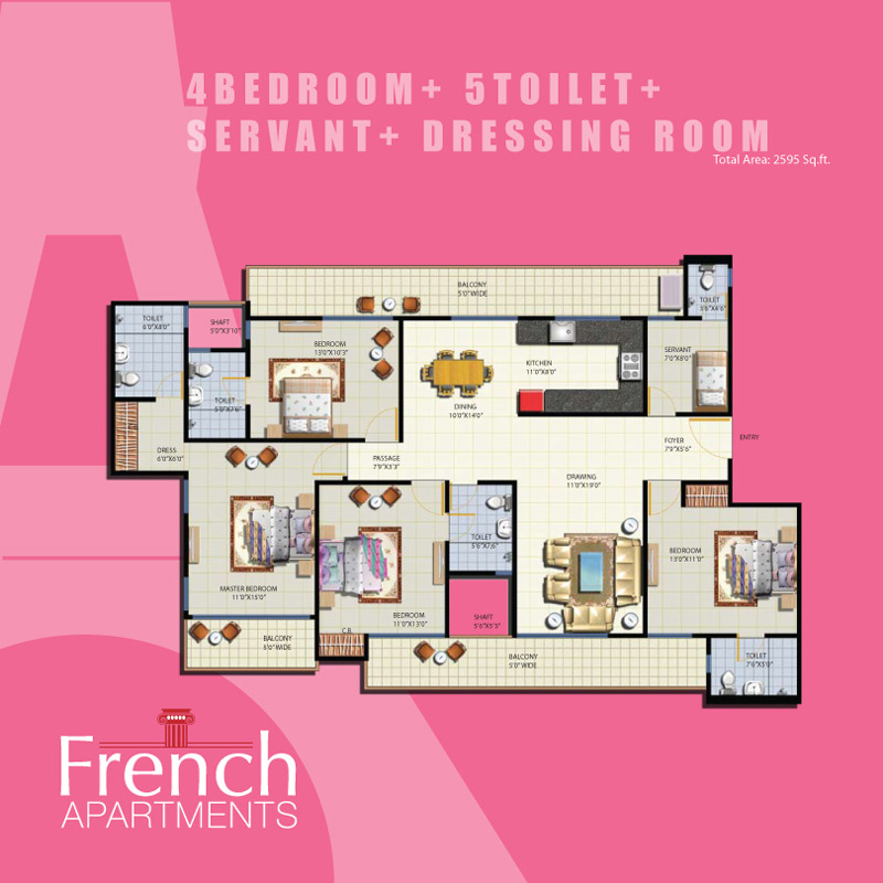 French Apartments
